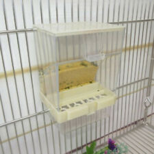 1x Bird Feeder No Mess Automatic Seed Feeder Cage Parrot Canary Cockatiel