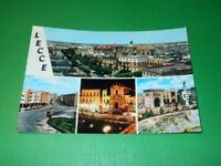 Cartolina Lecce - Vedute diverse 1967.