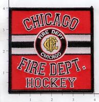 Illinois - Chicago Hockey Fire Dept Patch
