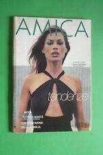 AMICA rivista MODA Agosto 33 1997 CARRè OTIS MARCO ROVEDA SIMONA TOMMY LEE JONES