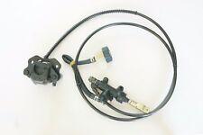 1500mm Hydraulic brake Foot pedal control caliper setup - Custom Go kart Buggy