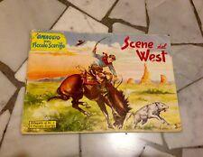 ALBUM ORIGINALE IL PICCOLO SCERIFFO SUPPL. AL N. 1 1956 Fumetti Scene dal West