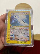 POKEMON LUGIA 149/147 Holo Card Rare Aquqpolis