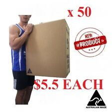 50x JUMBO MOVING BOXES CARDBOARD REMOVALIST PACKAGE DEAL