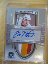 2005-06 05-06 The Cup Eric Nystrom RC Rookie Auto Patch #106 95/199 3 Colour