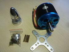 Silver Blue c6364 270 KV Brushless Outrunner Moteur avec accessoires 3d