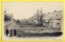 cpa TRELAZÉ vers 1900 Mine Mining ARDOISIERES d'ANGERS Cité Ouvrière de BEL AIR