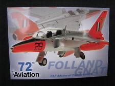 Post Card Aviation 72 Folland Gnat RAF Advanced Trainer XR953