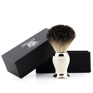 Black Badger Hair Bristle Shave Brush Wet Shaving Tool Barber Salon Brushes