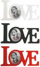 "Fotorrahmen Bilderrahmen ""Love"" in unterschiedlichen Farben"