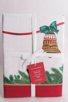 NWT Williams Sonoma Twas the Night Before Christmas tablecloth 70x108, ornaments