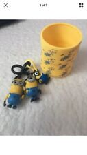 Official Despicable Me Minions Spring Classic Yellow Fun Slinky & Key rings