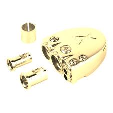 0 2 4 8 Gauge Battery Terminal Gold Car Audio Positive or Negative Post