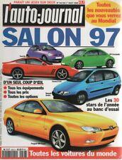 L'AUTO JOURNAL 1996 443 SALON DE L'AUTOMOBILE TOUTES LES VOITURES DU MONDE 1997