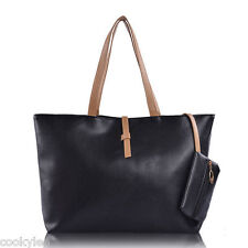 Korean Lady Ladies Women PU Leather Messenger Hobo Shoulder Handbag Shoulder Bag