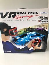 VR Real Feel Virtual Reality Car Racing Gaming System with Bluetooth Steering...