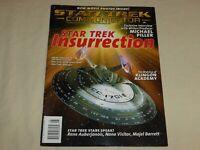 Star Trek Communicator Magazine 118 Insurrection Nana Visitor Rene Auberjonois