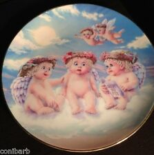 The Flying Lesson 1994 Dreamsicles Porcelain Plate By Hamilton Collection