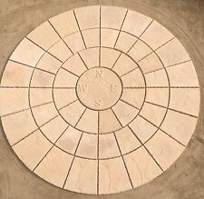 2.56M COMPASS ROTUNDA circle patio stone paving FREE DELIVERY NOTE EXCEPTIONS