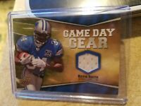 2009 Upper Deck Game Day Gear #KS Kevin Smith Jersey