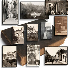 1919-55 Vintage Photo Album England Holland Paris France Captioned & Superb 570+