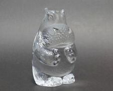 Clear Vintage Original Scandinavian Art Glass