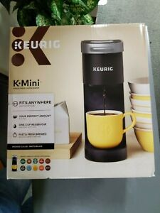 NEW Keurig K-Mini Single Serve K-Cup Pod Coffee Maker - Matte Black
