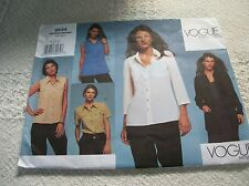 EASY Vogue Basic Design 2634 Misses' blouse top Sewing Pattern size 6-8-10