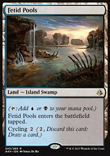 MTG FETID POOLS - POZZE FETIDE - AKH - MAGIC
