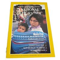 Vintage National Geographic Magazine Volume 166 No 2 August 1984 Mint Condition