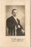 CAB Foto Feiner Herr - Chemnitz 1910er