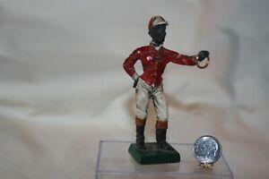 Miniature Dollhouse Vintage Black Americana Lawn Jockey Ornament 1:12 NR