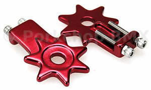 Pair of BMX CHAIN ADJUSTERS Chain TENSIONERS Bike-Cycle-Bicycle K6D5 Y2V2 C C1S8