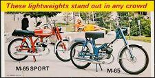 HARLEY-DAVIDSON M-65 SPORT vintage 1968 advertising poster 18x36