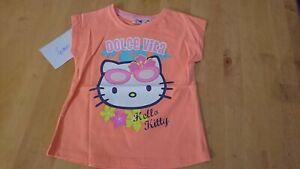 tee shirt hello kitty 4 ans