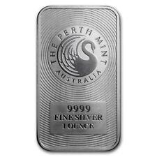 AUSTRALIE Lingot Argent 1 Once Perth Mint