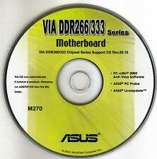 ASUS A7V333 VIA RAID  Motherboard Drivers Install  M270