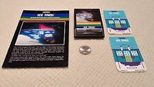 Mattel Intellivision Ice Trek with manual and two (2) overlays