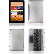 Skinomi Brushed Aluminum Skin Cover+SP for Asus Transformer Pad TF300+Keyboard