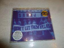 PASSENGERS - Miss Sarajevo - 1995 UK 4-track CD single