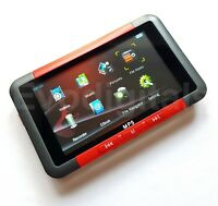 """NEW EVO RED 80GB MP3 MP5 MP4 PLAYER - DIRECT PLAY 3"""" SCREEN VIDEO MUSIC FM +"""