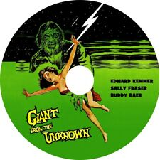 Giant From the Unknown (1958 Cult Sci-Fi Film) Mod Dvd disc only