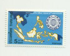 EMBLEMI & MAPPE - EMBLEM & MAP THAILAND 1977 ASEAN 10th