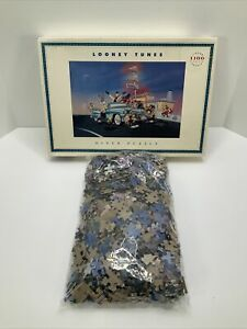 Looney Tunes Diner 1100 Piece Vintage 90s Jigsaw Puzzle Complete