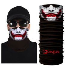 Outdoor Sport Joker Skull Neck Scarf Face Mask Balaclava Headband Bandana Ski US