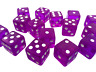 Dice game Six Sided D6 Wargame RPG Board Games Set White Black Blue Red 14mm 16m