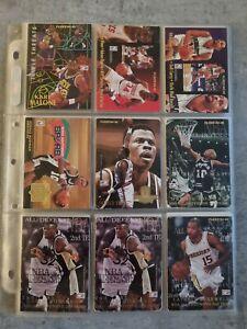 Lot de 45 cartes NBA Fleer 94/95 (Malone, Rodman, Payton, Robinson, Sprewell)