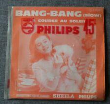 Sheila, bang bang / la course au soleil,  SP - 45 tours pochette juke box