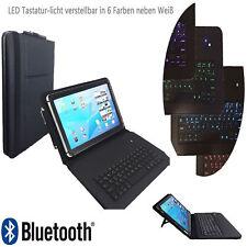 """Bluetooth LED Keyboard Hülle für Samsung Galaxy Tab 2 P5110 10.1"""" LT1"""