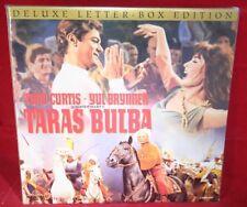 Laserdisc {s} * Taras Bulba *  Tony Curtis Yul Brynner Christine Kaufmann LTRBX